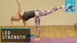 Improve Leg Strength And Stability Yoga With Esther