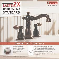 Delta Faucet Aerator Leaks by Delta Faucet 3555 Pbmpu Dst Victorian Polished Brass Two Handle