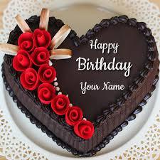 Happy Birthday Chocolate Cake Image