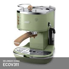 Delonghi Icona Vintage ECOV 311 Coffee Machine 220V 1000W Auto Off FreeUPS Green
