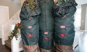 Upright Artificial Christmas Tree Storage Bag