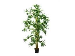 deko blumen künstliche pflanzen aus bambus fürs wohnzimmer