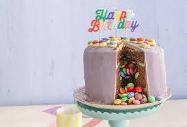 für den perfekten kindergeburtstag bunte piñata torte