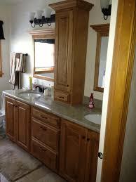 Bathroom Vanity Tower Ideas by Bathroom Vanity Tower Cabinets Best Bathroom Decoration