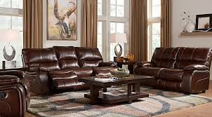 Black Leather Couch Living Room Ideas by Leather Living Room Sets U0026 Furniture Suites