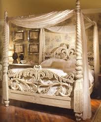 Big 4 Poster Bed Heavenly Cool Bedroom IdeasBedroom