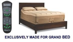 Tempur Pedic Grand Bed by Adjustable Mattress Bases Blissful Sleep