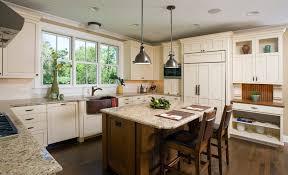 industrial pendant lighting kitchen craftsman with copper sink