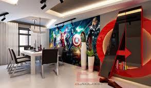 chambre marvel fans d voici l appartement de vos rêves