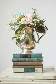 Vintage Centerpiece Wedding Teapot Book Books