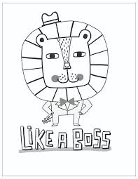Free Printable Fathers Day Coloring Page Like A Boss