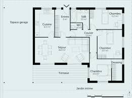 plan de maison gratuit 4 chambres plan maison plain pied gratuit unique plan maison plain pied 4