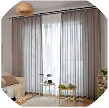 de li mei living room curtains gardinen für
