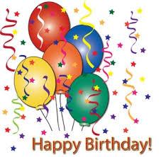 Birthday Clip Art Birthdays Parties Balloons