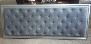 Diamond Tufted Headboard With Crystal Buttons by Diy Tufted Headboard Youtube