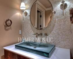 mosaic tiles of pearl mosaic tiles kitchen