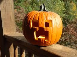 Minecraft Pumpkin Carving Ideas by Creep O U0027 Lantern Minecraft Project