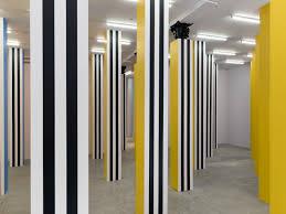 100 In Situ Architecture Daniel Buren Transforms Bortolami Gallery With Mesmerizing
