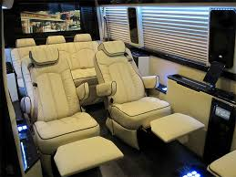 Mercedes Sprinter Viano Luxury Recliner Seats Reclining Captain Chair Office Limousine Conversion Van Limo Seat
