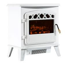 HomCom 20 1500W Free Standing Electric Wood Stove Fireplace Heater