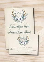 Rustic winter wedding invitation rustic wedding winter wedding