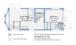 100 Tiny Home Plans Trailer Donn House On