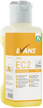 100 Evans Glass Cleaner Vanodine Low Impact Products