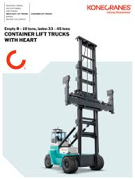 Konecranes Container LIft Trucks - Konecranes - PDF Catalogue ... China Clw 42 3tons Truck Lifting Crane With Forland Chassis Yellow Fork Lift With A Pallet Stock Illustration Which Came First The Or Forklift Lifted Trucks Problems And Solutions Auto Attitude Nj Home Calumet Service Rental Equipment How To Your Laws For Dodge Jeep Ram Browning Zone Offroad 35 Adventure Series Uca Kit C29n Crown Forklifts New Zealand The Ins Outs Of Order Picker Sp