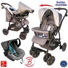 siege auto bebe neuf poussette bébé 4 roues combiné 2 en 1 poussette siège auto cosy
