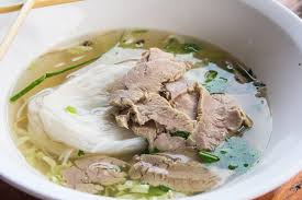 pho cuisine pho rice noodle soup with beef recipe epicurious com