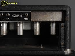 Fender 2x10 Guitar Cabinet by 1964 Fender Tremolux Amp 2x10