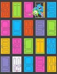 Door clipart monsters inc Pencil and in color door clipart