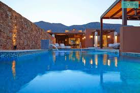 100 Luxury Residence Domes Of Elounda 2 Bedroom With PoolElounda Bay Greece