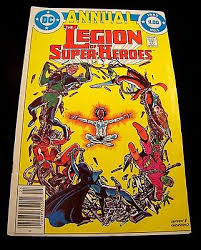 Legion Of Super Heroes Annual 1 1982