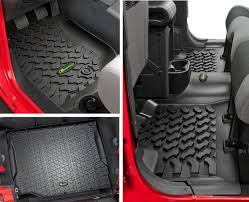 quadratec ultimate all weather floor liner triple combo for 07 12