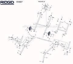 Ridgid Tile Saw Wts2000l by Ridgid R4007 Parts List And Diagram Ereplacementparts Com
