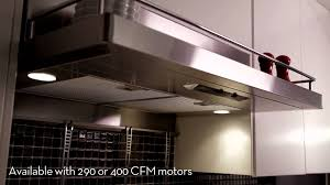 zephyr terazzo under cabinet range hood youtube