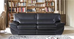 canapé 3 places cuir boston mobilier de