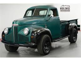 100 For Sale Truck 1947 Studebaker For ClassicCarscom CC1178941