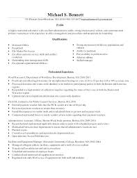 Clerical Resume Objectives Objective Best Ideas Of Job For