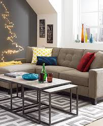 incredible macys sleeper sofa clarke fabric sectional sofa living