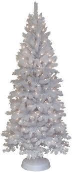 General Foam Plastics 75 Pre Lit Frosted Pine Christmas Tree