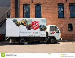 The Salvation Army Truck Editorial Image. Image Of Street - 58002760