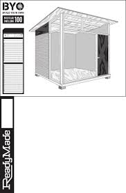 10x12 Shed Material List by 25 Best 8x10 Shed Plans Images On Pinterest Shed Plans Garden