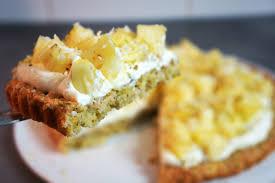 dessert ananas noix de coco gâteau des îles coco ananas vanille hervecuisine