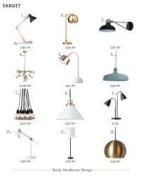 Wood Tripod Floor Lamp Target by My Favorite 37 Online Lighting Resources Emily Henderson