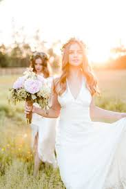 Super Pretty Rustic Bridal Editorial With Beautiful Twin Brides