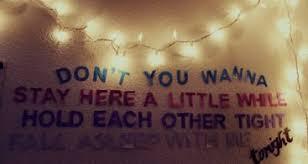 Bedroom Wall Lyrics Picture Tumblr 500 X 334 Pixels