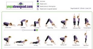 Yoga Beginner Poses Chart Berry Blog
