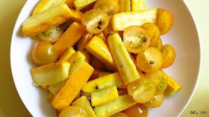 salade de courgettes jaunes au poivre de sichuan